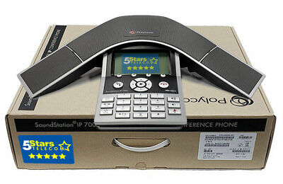 Polycom SoundStation IP 7000 VoIP Conference Phone PoE (2200-40000-001) - NEW