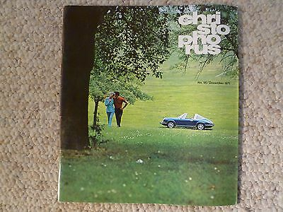 1971 Porsche Christophorus Magazine English #96 December 1971 RARE! Awesome L@@K