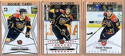 (3) 2014-15 ITG Top Prospects - CONNOR MCDAVID - Rookie - Mint #1 PICK - OILERS