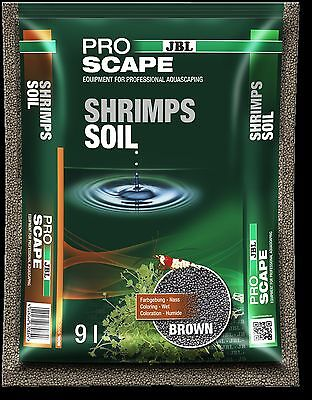 JBL ProScape Shrimp Soil Brown 9L litres Aquascaping substrate nutrient planting