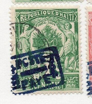 Haiti 1904 Early Issue Fine Used 1c. 073428