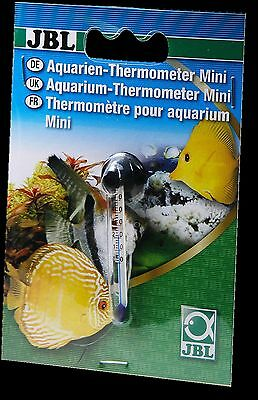 JBL Mini Thermometer glass temperature thin slim small fish aquarium nano tank