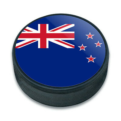 Ice Hockey Puck Country National Flag J-N