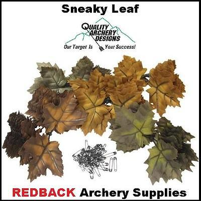 Sneaky Leaf Hunting Camo 3D pin on Leaves