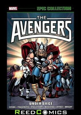 AVENGERS EPIC COLLECTION UNDER SIEGE GRAPHIC NOVEL (456 Pages) Paperback