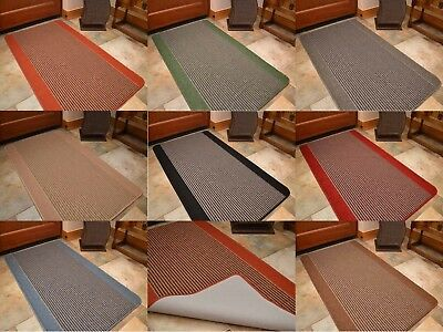 New Small Large Machine Washable Rubber Back Kitchen Mats Non Slip Hall Runners