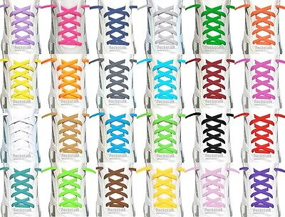 "Oval Athletic 45"" 54"" 63"" SHOELACES for boots running sneakers shoe lace strings"