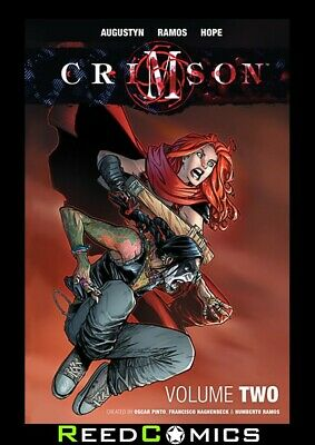 CRIMSON VOLUME 2 HARDCOVER New Hardback Collects Issues #13-24 by Humberto Ramos