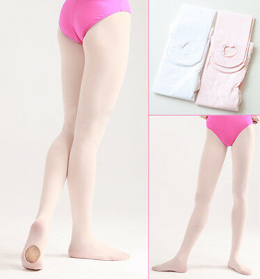 NIP Teen/Adult  European Pink Ballet Pointe Dance Tights Convertible One Size