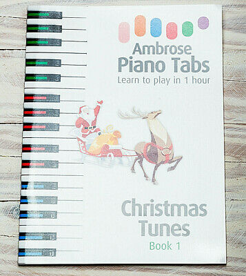 Ideal Xmas Present. Playing Piano 1hr. Book Christmas Gift Idea stocking filler