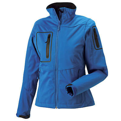 Russell Collection Womens Water Resistant Breathable Sports Shell Jacket