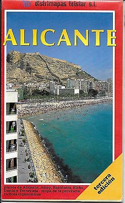 Map of Alicante, Spain by distimaps telstar