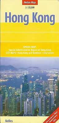Map of Hong Kong, by Nelles Map