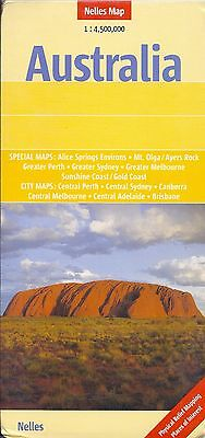 Map of Australia, by Nelles Map