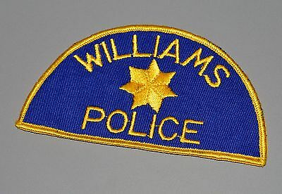 Old Style Williams Arizona and/or California Police Patch