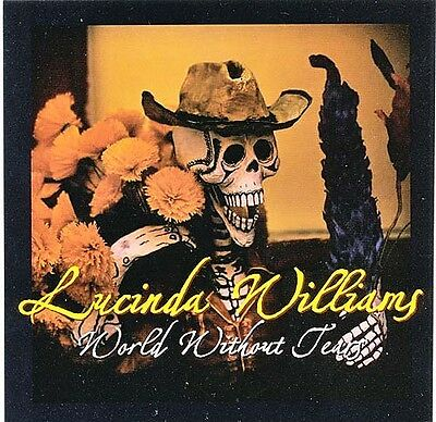 Lucinda Williams World Without Tears RARE promo sticker '04