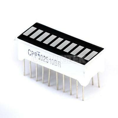 1pc 10-Segment Red LED Bar-graph Display with 20 pins High Quality