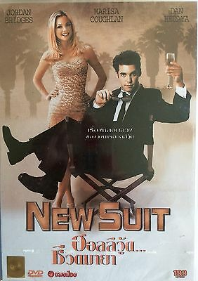 New Suit - Jordan Bridges Marisa Coughlan Rare New Sealed Region Free Pal Dvd!!!