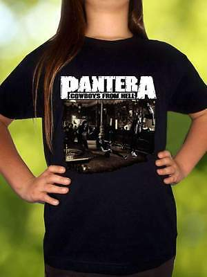 PANTERA COWBOYS FROM THE HELL t shirt BLACK shirt children clothing toddler kid