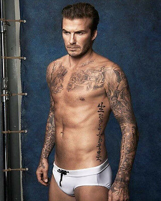 David Beckham Great Colour Pose 10x8 Photo