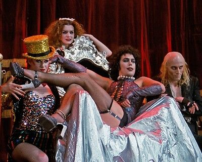 Rocky Horror Picture Show Great Scene 10x8 Photo