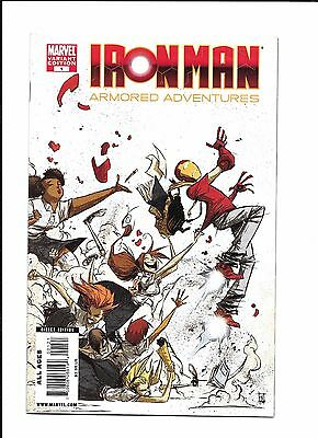 Iron Man Armored Adventures #1 Skottie Young Variant (8.0)