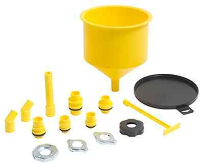 Spill-Free Funnel Oil Pan Radiator Part Cooling System Automotive Tool Supply