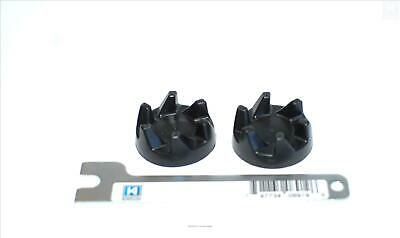 2 x KitchenAid blender black rubber coupler coupling clutch gear 9704230 + tool