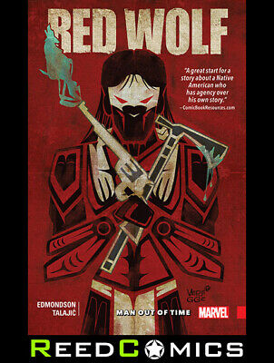 RED WOLF VOLUME 1 MAN OUT OF TIME GRAPHIC NOVEL Paperback Collects Issues #1-6