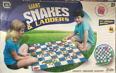 NEW Grafix Games Hub Giant Snakes And Ladders Game Fun Kids Toys