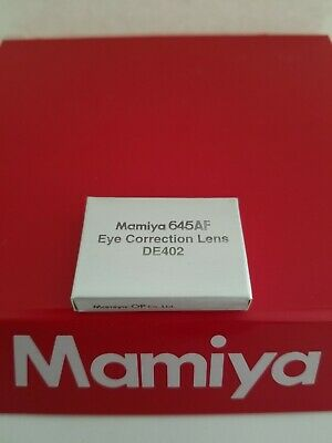 Mamiya EYE CORRECTION LENS / DIOPTER for AFD III / AFD II / AFD /AF /DF bodies