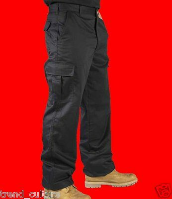 *mens Ladies Cargo Combat Work Mechanic Industrial Collegeleisure Trousers Pants