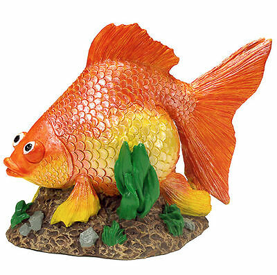GOLDFISH - EXOTIC Aquarium Accessories Aqua Kritters 6 X 5 X 5cm brand new