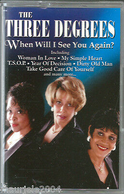 The Three Degrees. When Will I See You Again (1997) Musicassetta NUOVA Woman in