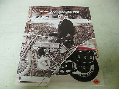 Collectible  1991 Harley Davidson  Accessories Catalog