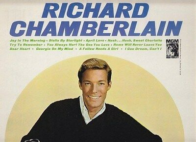 Richard Chamberlain . Joy in the Morning . Dr Kildare . 1965 MGM mono LP
