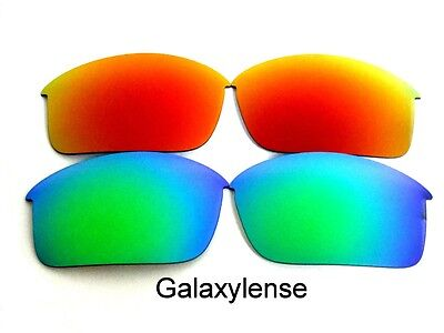 5ecf8d3871 Galaxy Replacement Lenses For Oakley Bottle Rocket Green Red Polarized 2Pair