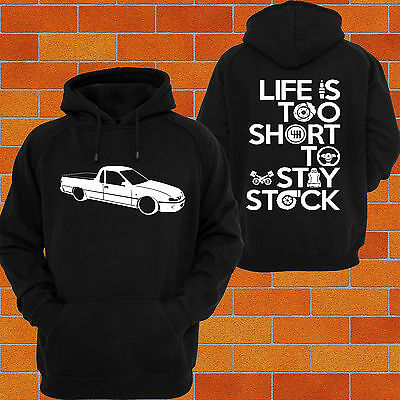 Hoodie Holden VR VS Commodore UTE V6 S V8 hsv Calais Berlina Race Drift Burnout