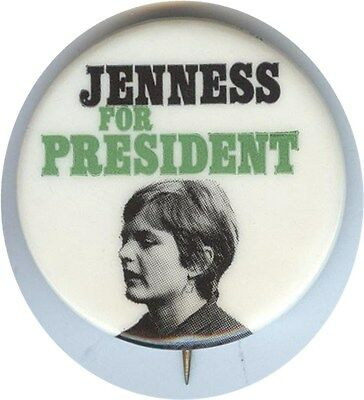 Jenness For President Socialist Workers Party
