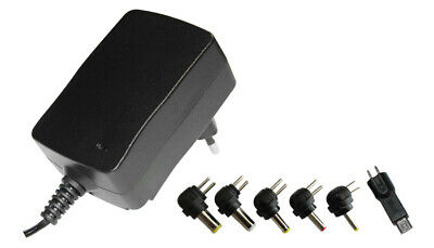 Alimentatore switching TABLET e SMARTPHON 3-4.5-5-6-7.5-9-12V 2.25A MICRO USB