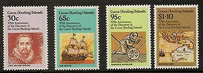 Cocos (Keeling) Islands 1984 375th Anniv of Discovery  MNH