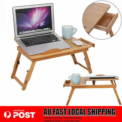 HOT Mobile Adjustable Laptop Desk For Notebook Computer iPad PC Stand Table Tray
