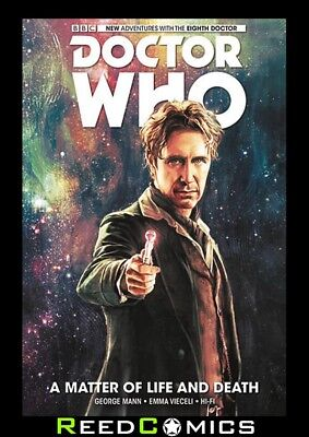 DOCTOR WHO 8th DOCTOR VOLUME 1 MATTER OF LIFE AND DEATH HARDCOVER New Hardback