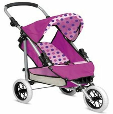 Snuggles Deluxe Folding Pram Buggy Push Chair Doll Accessories Play Set Ty3445