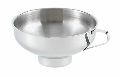 """Harold 5.5"""" Stainless Steel Canning Preserving Wide Mouth Funnel w/ Handle 41194"""