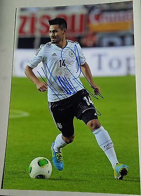 ILKAY GÜNDOGAN DFB signed IN-PERSON Photo 20x30 AUSGESCHRIEBEN RAR !!!