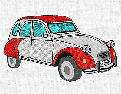 Citroen Traction Embroidered /& Personalised Polo Shirt