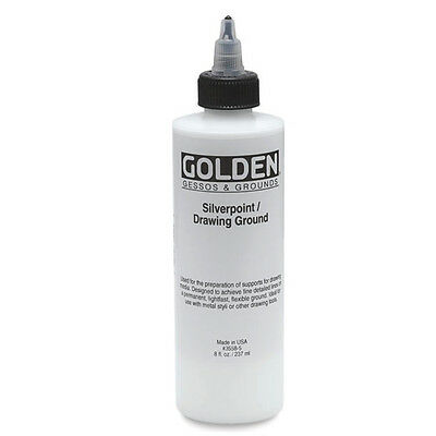 Golden Silverpoint/Drawing Ground 8 Oz