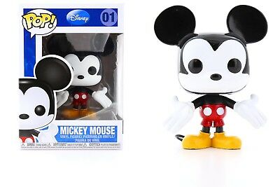 Funko Pop Disney Series 1 Mickey Mouse Vinyl Action Figure Collectible Toy 3.75""