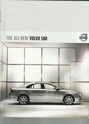 Volvo S80 's', Se, Se Sport And Se Lux Sales Brochure  2007 Model Year